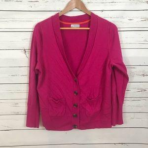 JC Penny Plus Size Hot Pink Cardigan Size 1X